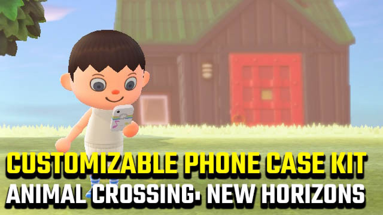 How To Get The Animal Crossing New Horizons Customizable Phone