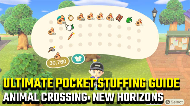 Animal Crossing: New Horizons Ultimate Pocket Stuffing