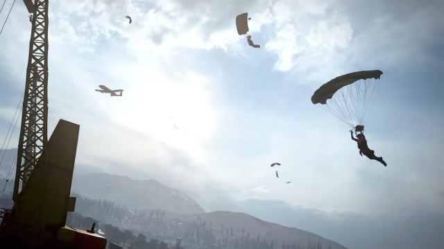 Call of Duty: Warzone driver parachute