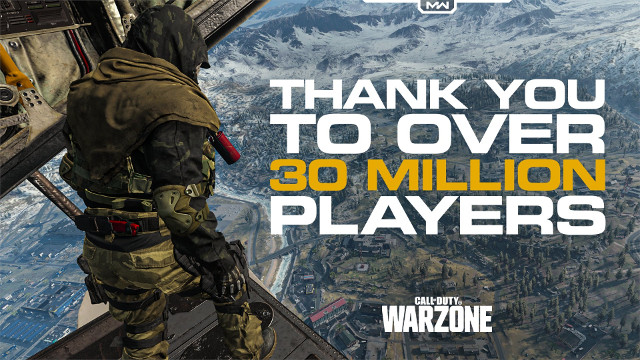Call of Duty: Warzone player count