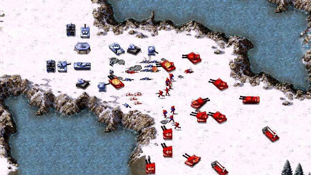 Command and Conquer Remastered Steam battle