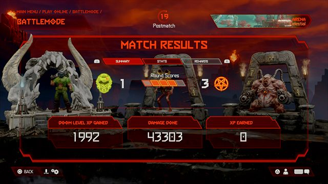 Doom Eternal 0 XP Earned   Why am I not getting experience?