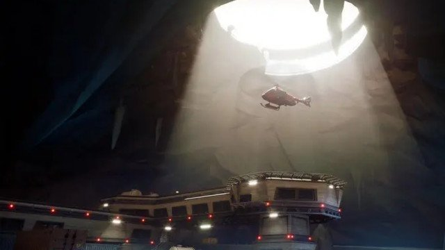 Fortnite Helicopters leak The Grotto