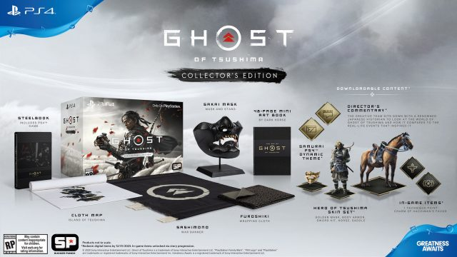 Ghost of Tsushima pre-order - Collector's Edition