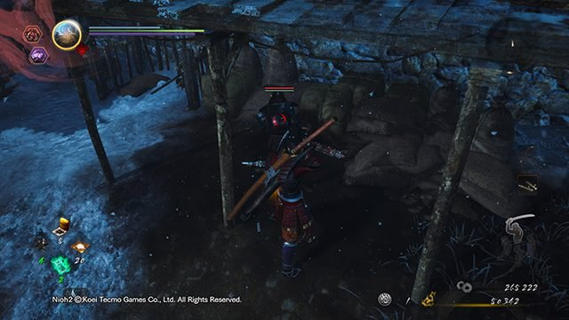 How to backstab in Nioh 2