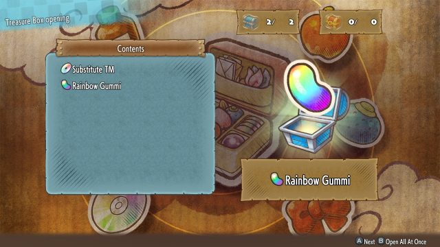 Pokemon Mystery Dungeon DX Rainbow Gummis