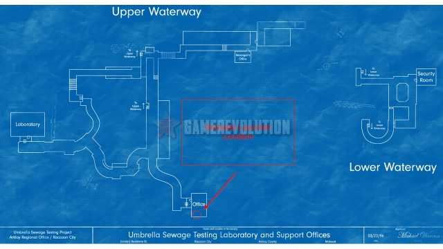 Resident Evil 3 Remake Grenade Launcher Location Map