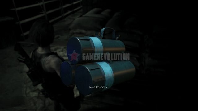 Resident Evil 3 Remake Mine Grenade Rounds
