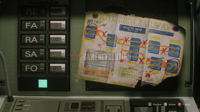 Resident Evil 3 remake Subway Routing Puzzle Solved