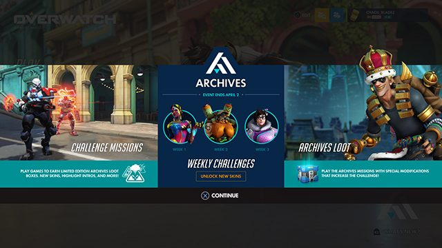 Overwatch 2.84 Update Patch Notes | New Archives event and balance changes