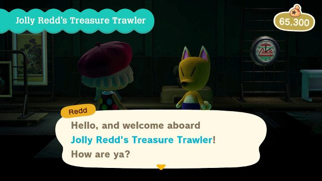 Animal Crossing April Update Jolly Redd