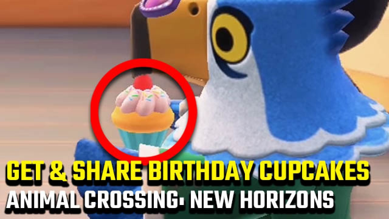 Groovy Animal Crossing New Horizons Birthday Cupcakes How To Get And Funny Birthday Cards Online Necthendildamsfinfo