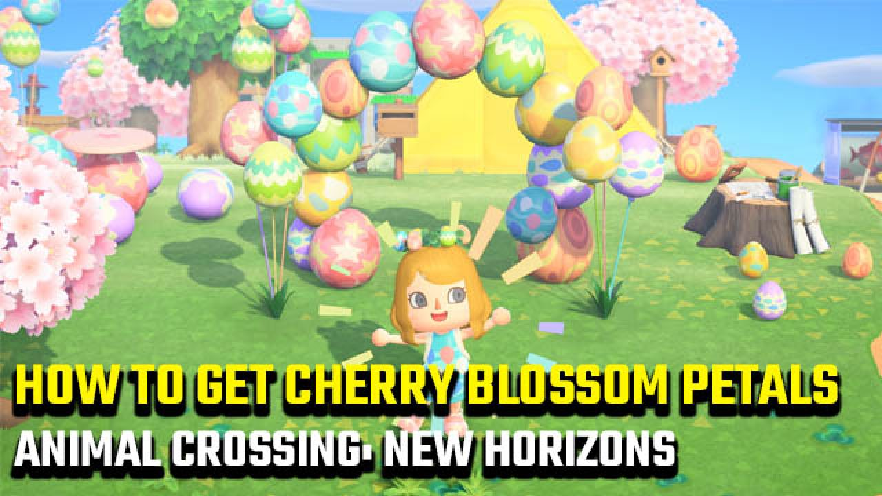 How To Get Animal Crossing New Horizons Cherry Blossom Petals Gamerevolution
