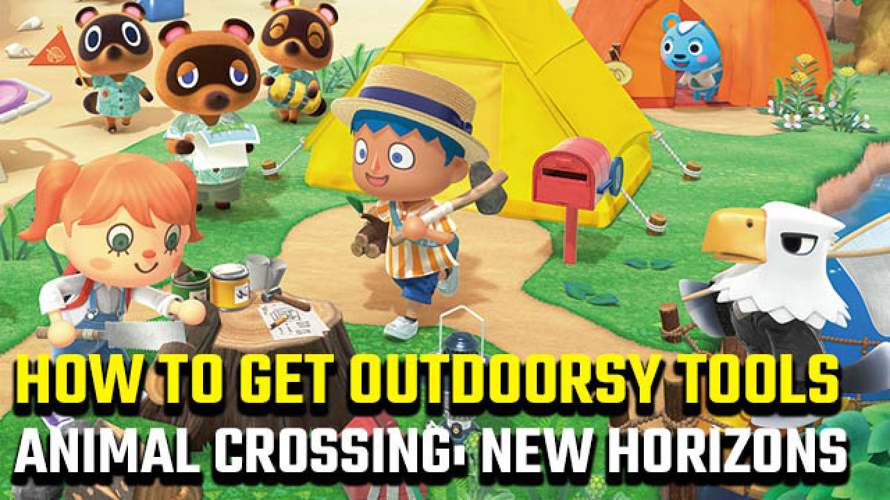 How To Get Animal Crossing New Horizons Outdoorsy Tools Gamerevolution