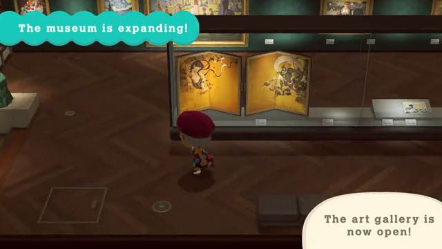 Animal Crossing: New Horizons art gallery items