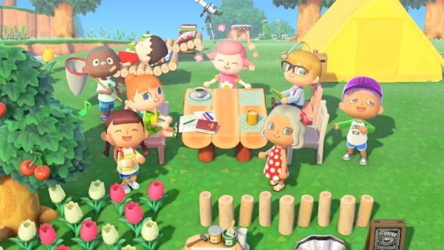 Animal Crossing: New Horizons storage space