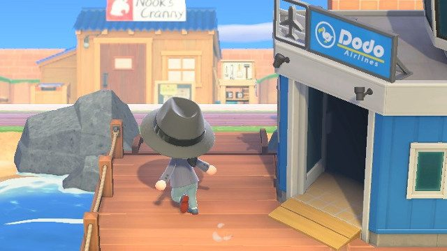 Animal Crossing trading airport
