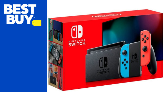 Best Buy Nintendo Switch restock cover