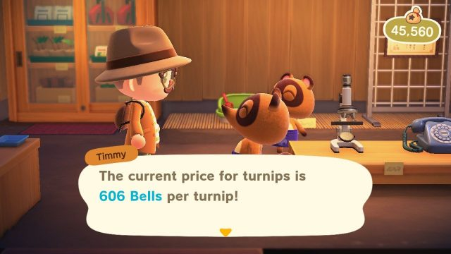 Can you sell spoiled turnips in Animal Crossing: New Horizons?
