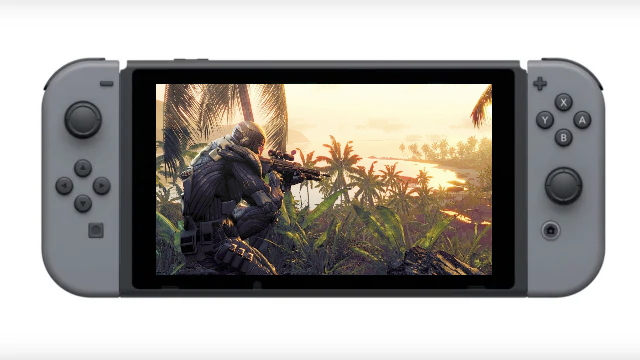 Crysis Remastered switch release date cover