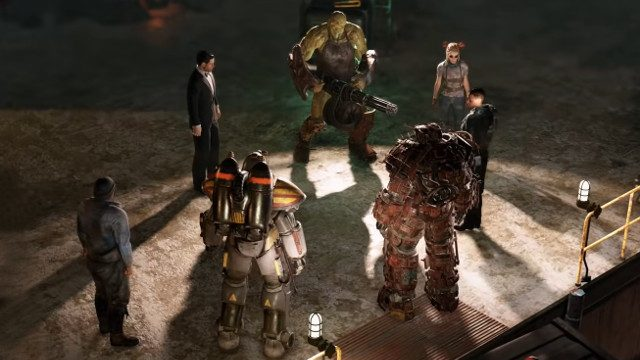 Fallout 76: Wastelanders group