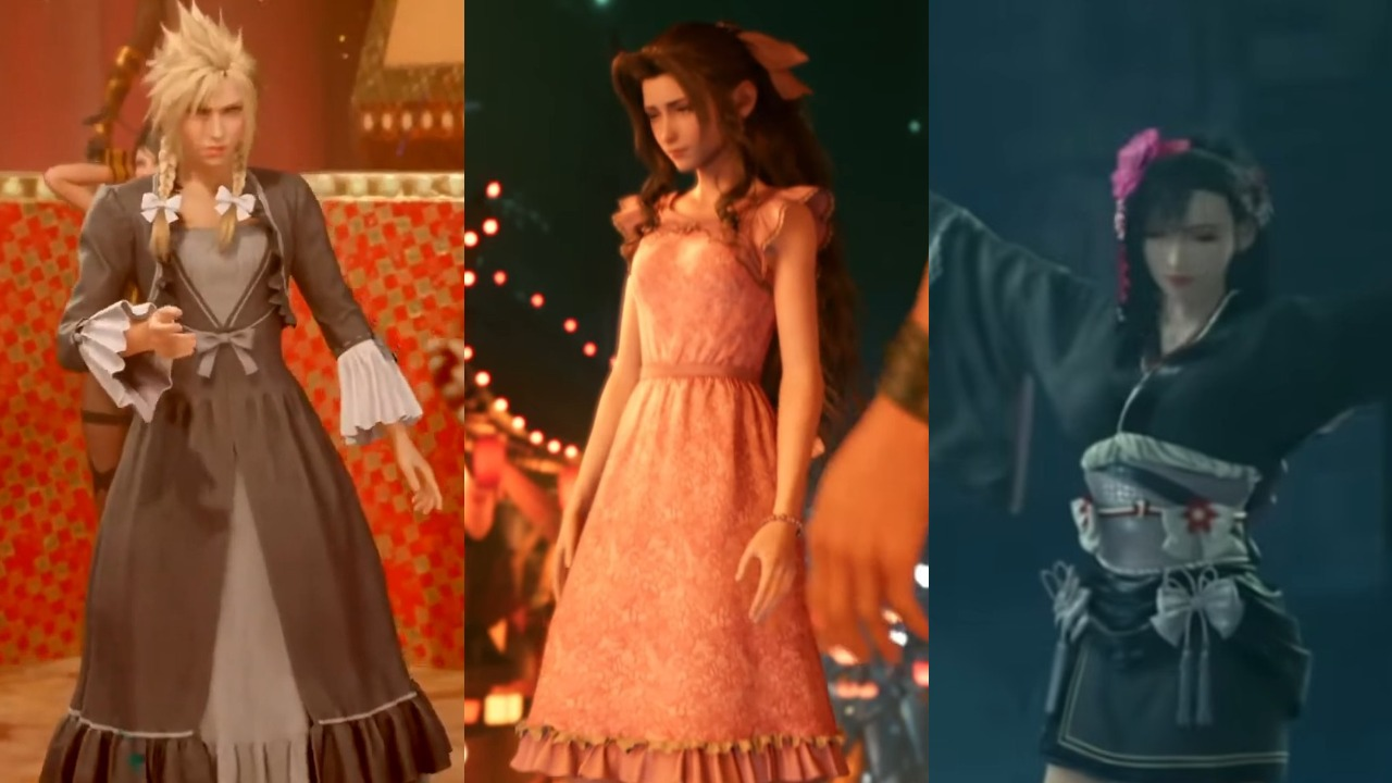 Final Fantasy 7 Remake How to get different dresses Dressed to the Nines trophy guide