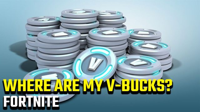 Fortnite 'The following items have been removed from your account' error V-Bucks gone