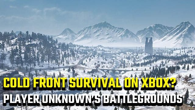 PUBG Cold Front Survival Xbox One