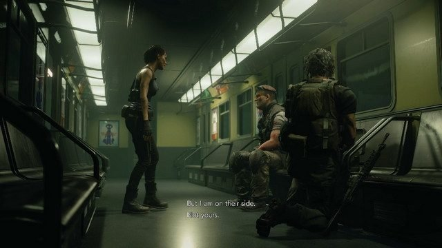 Resident Evil 3 remake are there multiple endings