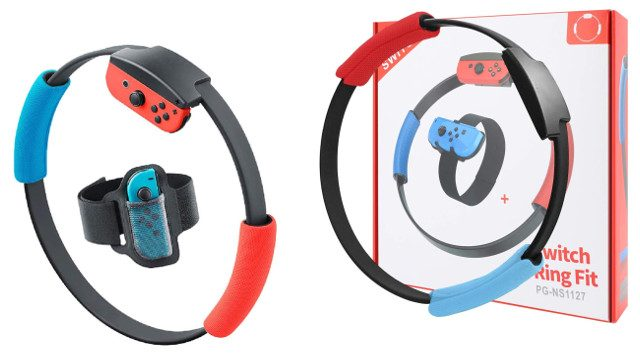 Ring Fit Adventure Amazon restock third-party Ring-Cons