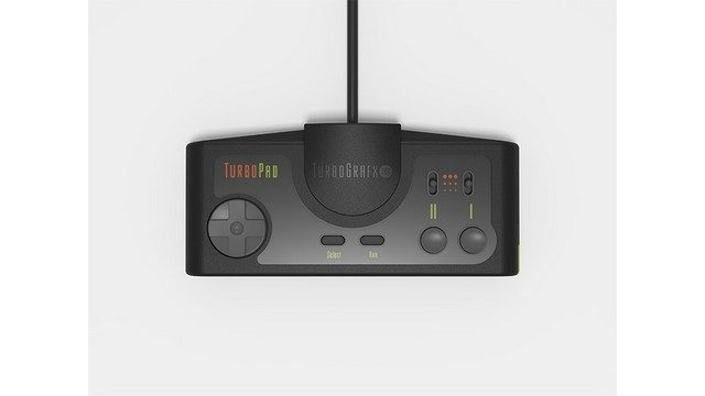 TurboGrafx-16 Mini Review Controller