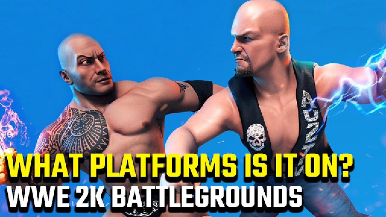 Wwe 2k Battlegrounds Platforms Coming To Pc Ps4 Xbox Switch Mobile Gamerevolution