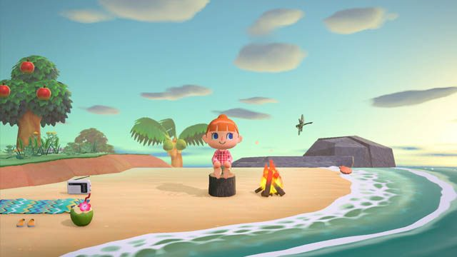 When does it rain in Animal Crossing: New Horizons
