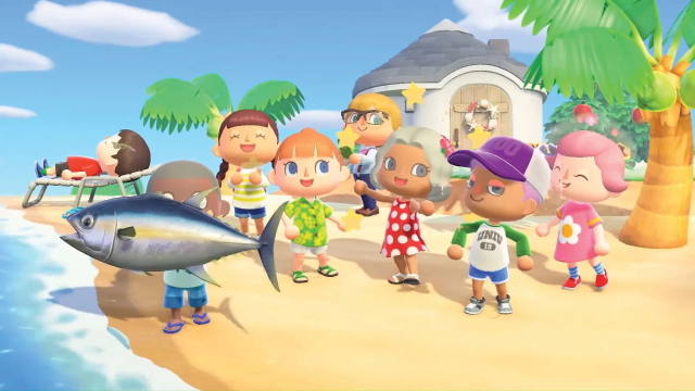 Animal Crossing: New Horizons Coelacanth