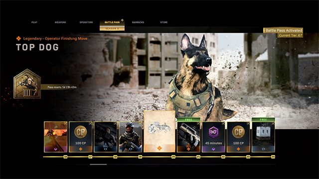 How to get the dog in Call of Duty: Modern Warfare