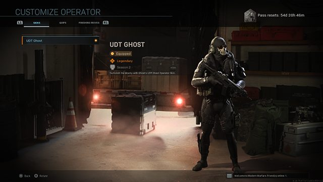 How to get Ghost in Modern Warfare