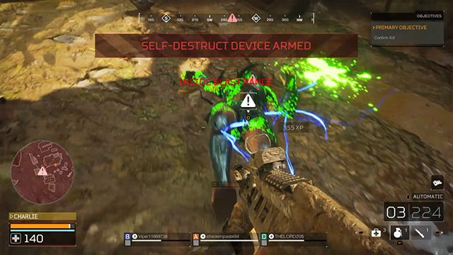 Predator: Hunting Grounds Self-Destruct Defuse   How to get the That Was Close... trophy