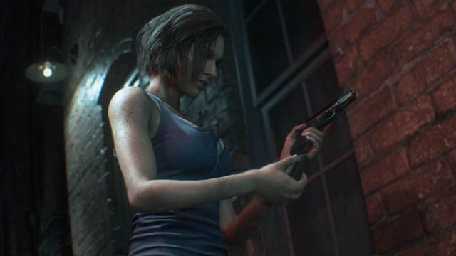who plays Jill Valentine in Resident Evil 3 remake?