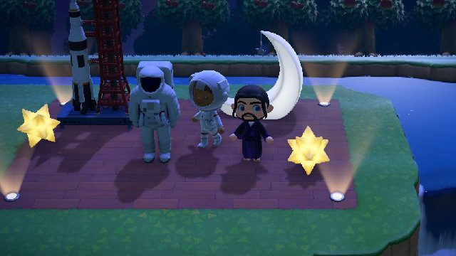 Animal Crossing's wholesome community spaceship
