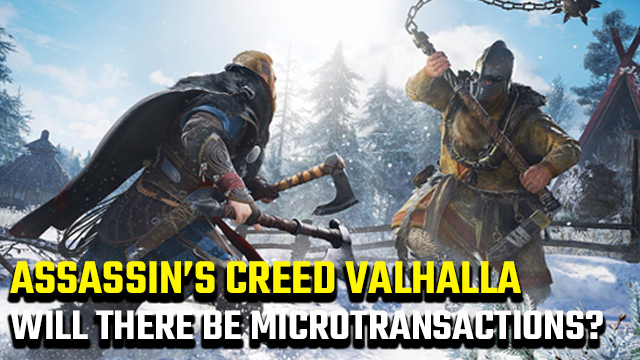 Assassin's Creed Valhalla microtransactions