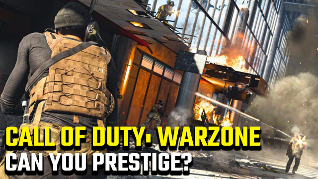 Can you prestige in Call of Duty: Warzone