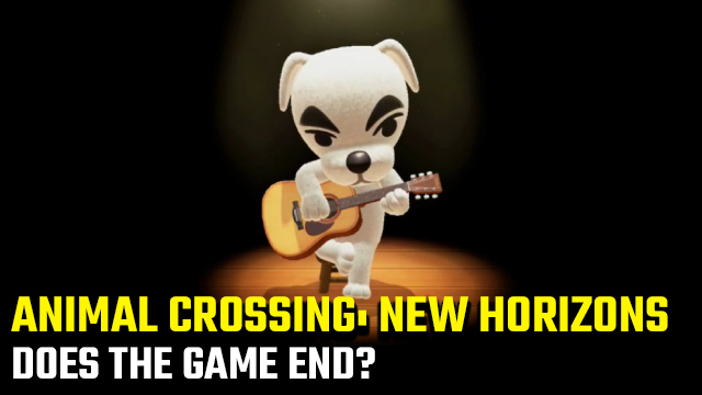 Does Animal Crossing: New Horizons end?