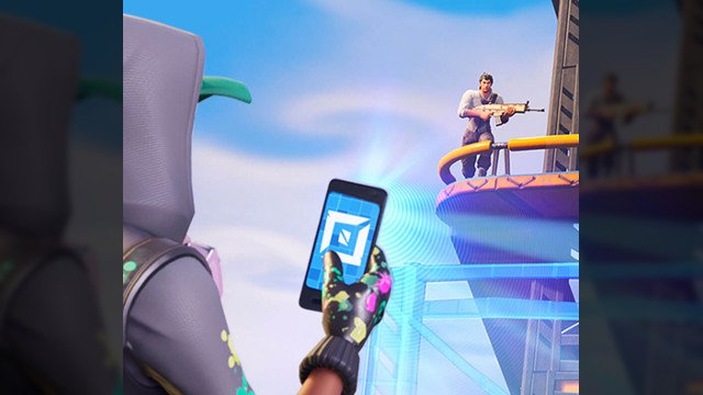 Fortnite PS5 Xbox Series X Unreal Engine 5phone gun
