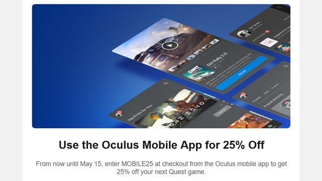 How to get Oculus Quest promo codes