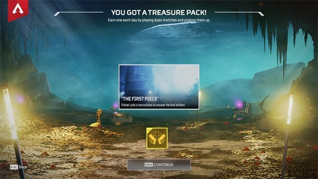 apex legends what do treasure packs do