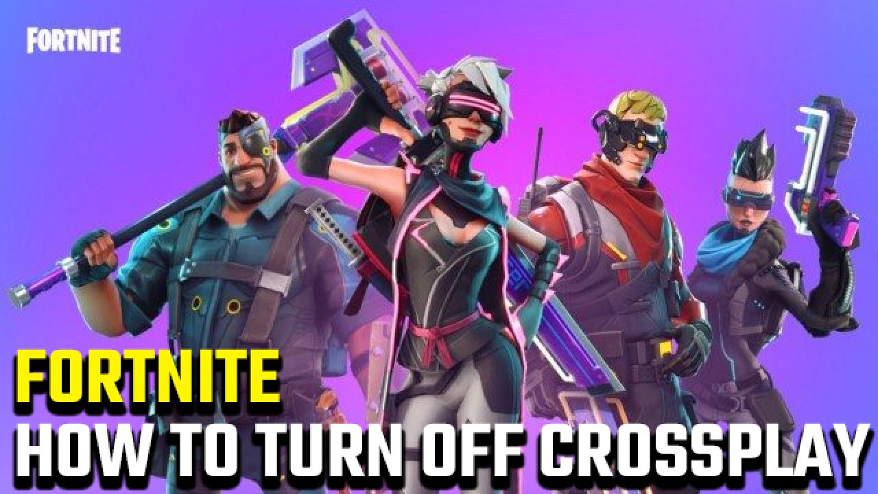 Crossplay Disabled Fortnite Sep 6 2019 How To Turn Off Crossplay In Fortnite Gamerevolution