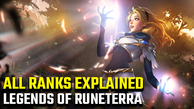 Legends of Runeterra ranked system