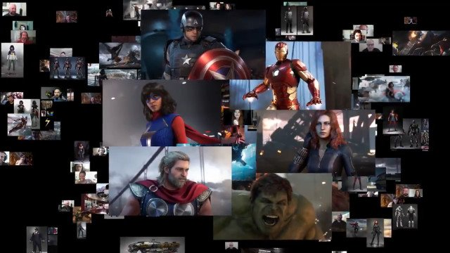 Marvel's Avengers co-op gameplay collage