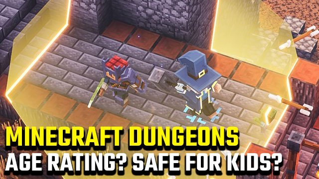 Minecraft Dungeons age rating