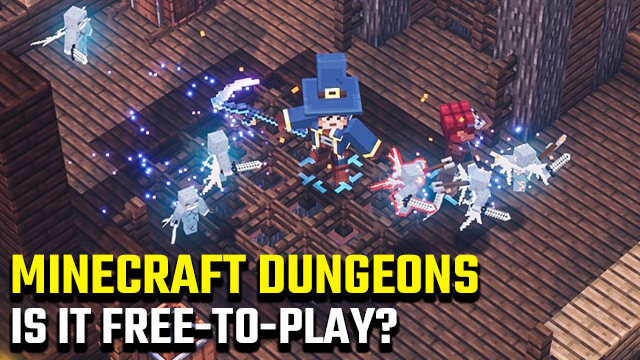 Minecraft Dungeons free to play